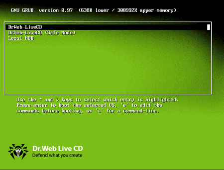 Download Dr.Web LiveCD 6.0.2